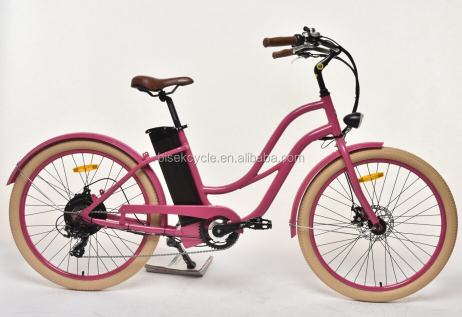 europe electric beach cruiser bicycle 250w 25km h en15194. Black Bedroom Furniture Sets. Home Design Ideas