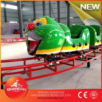 Guangsh Attractions Backyard Amusement Rides Kids Caterpillar Train
