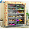 Shoe cabinet storage large capacity home furniture DIY simple 9 gird women boots shoe rack