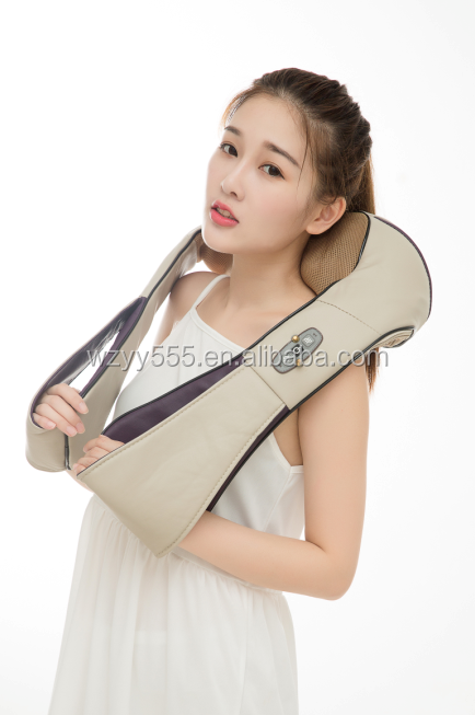 Top quality hot-sale kneading vibration neck and shoulder massager