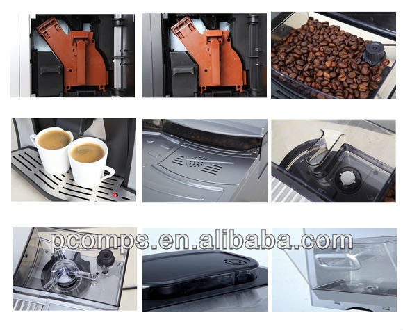 200g Bean-Tank Cup Pre-warming UV Silver Auto Coffee Bean Roasting Machine