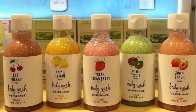 YESNOW YINGXUE Brand body spa gel Scrubbing Cream Exfoliating Scrub gel