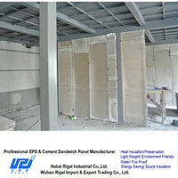 Lightweight space saving soundproof construction using waterproof panels outdoor with wood