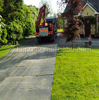 HDPE access mats and temporary roadway HDPE ground protection mat