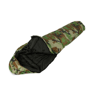 Extreme Cold Weather Military Sleeping Bag With Carry Sack Water Repellent Nylon