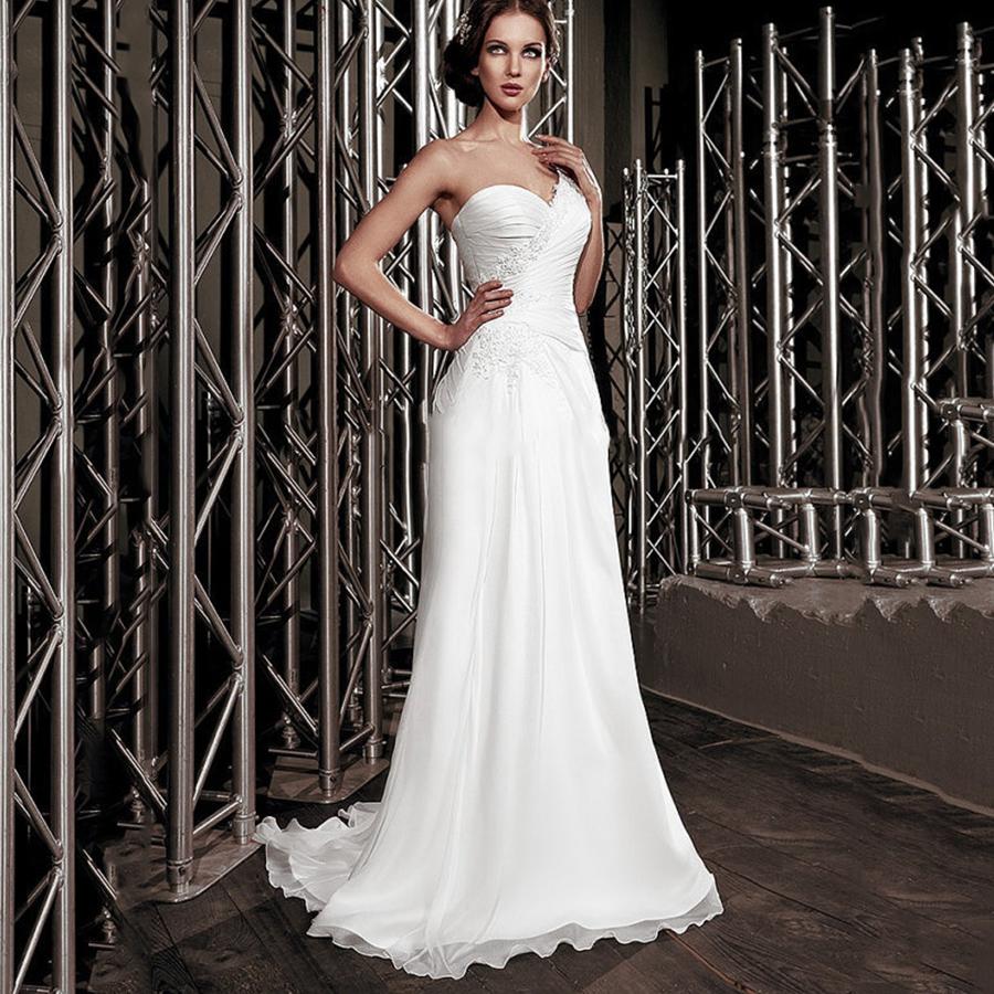New Summer Sweetheart Lace With Beading Chiffon Bridal