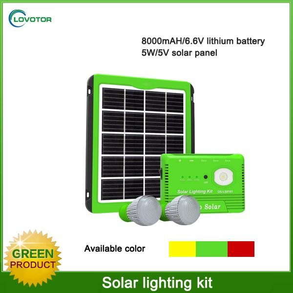 5w solar panel <strong>kit</strong> USB charger led bulb lighting solar home system <strong>kit</strong>