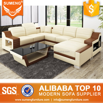 Sumeng Outstanding Design Italian Style Lounge Suite Genuine Leather ...
