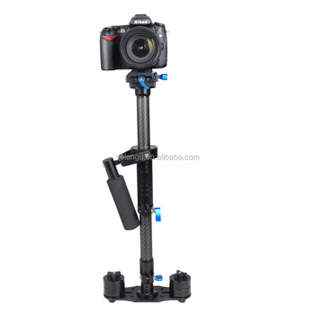 YELANGU Professional Photography Equipment 80cm Carbon Fiber Video Stabilizer S80T Camera Steadycam Support DSLR