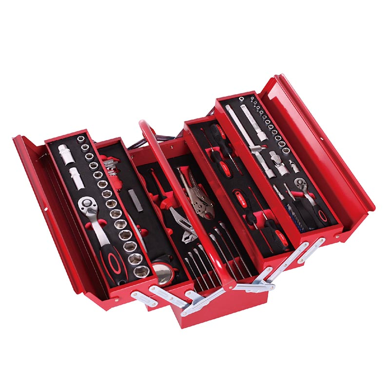 Torin BigRed Tool box with Tools(88 PCS mechanical tools set)