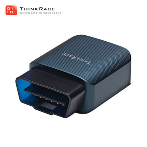 CE RoHS tracking car obd2 gps tracker with obd ii software and app designed by Thinkrace