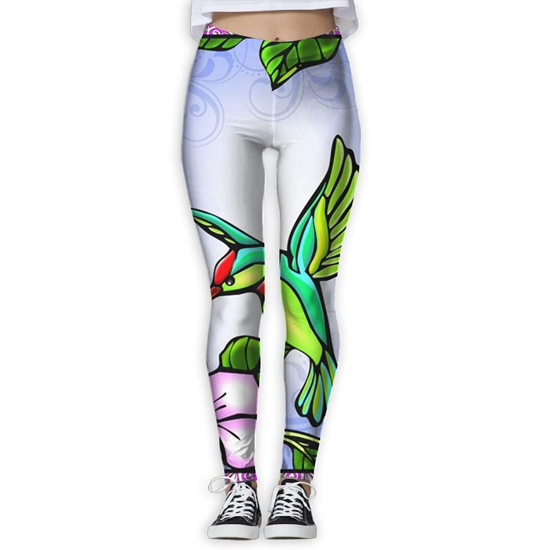 46b47af0c8 Get Quotations · Virgo Oils Hummingbird Smooth Compression Pants/Yoga Pants  Panel Leggings Women Youth Zipper