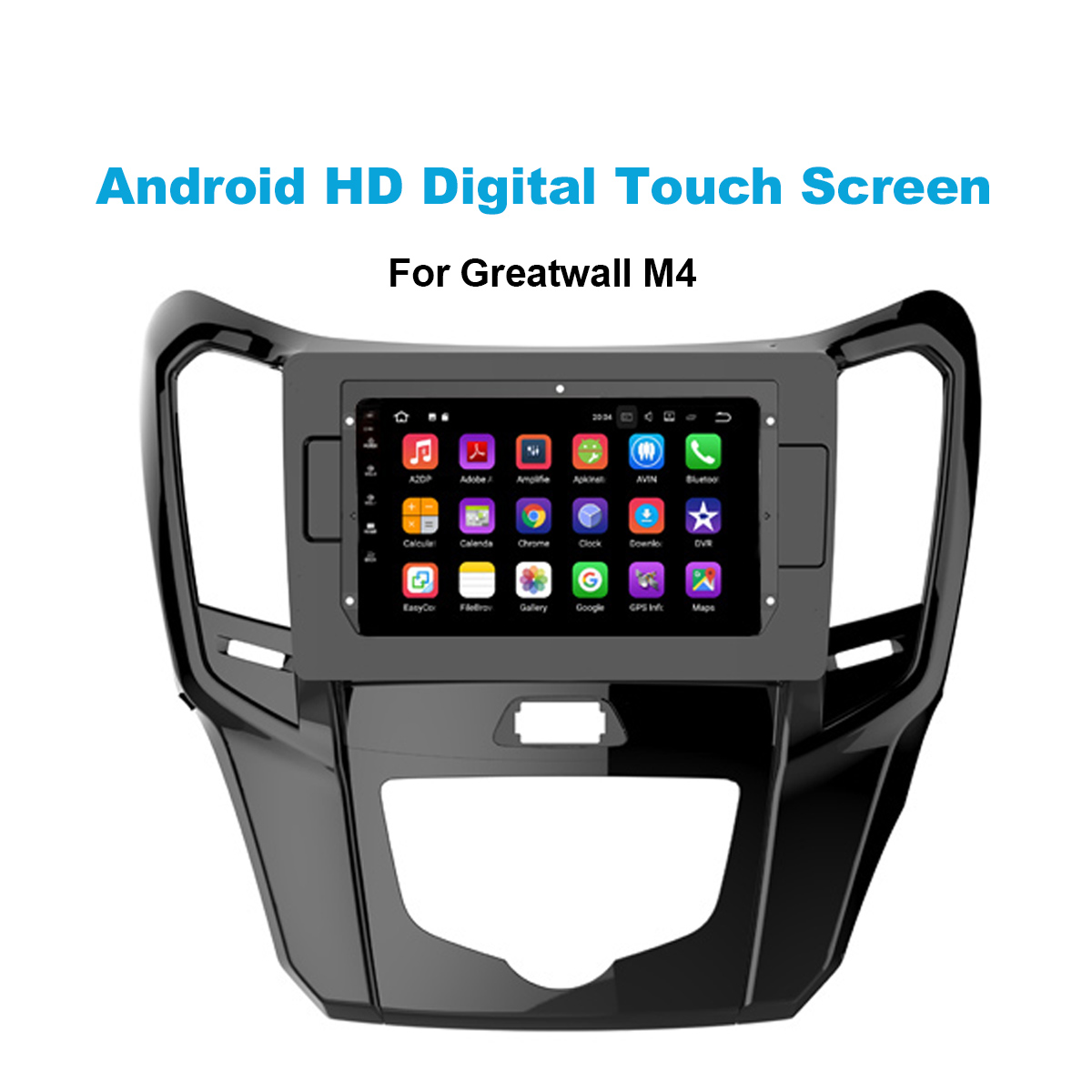 9 polegada Android 8.0 Octa Núcleo de rádio de áudio estéreo do carro dvd player para Great Wall M4