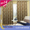 2014 hot sale 100% polyester decoration wedding curtain