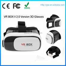 Hot fashion vr box vritul realtity google cardboard 3d glasses Shenzhen wholesale 3d glasses