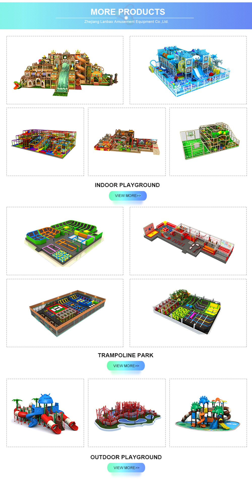 Custom Design Trampoline Park Kids Adult Indoor Playground