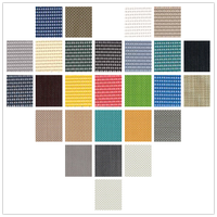 PVC coated textilens mesh fabric for beach chair table mat&pet screen