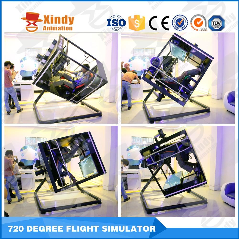 2016 Funny Product Cockpit 720 Degree Flight Simulator Portable Flight  Driving Simulator - Buy Portable Flight Driving Simulator,Flight Simulator