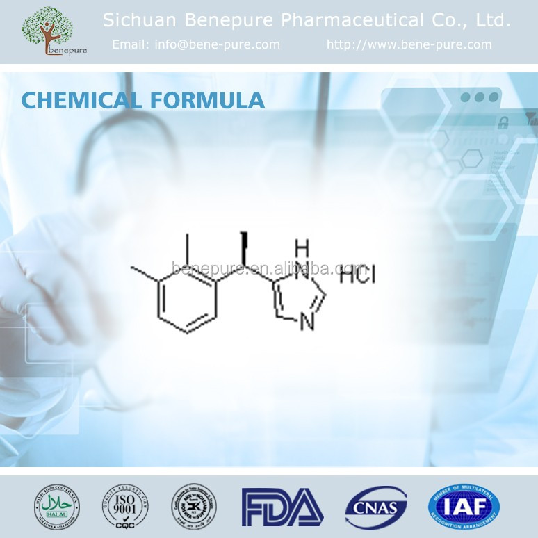 Factory supply Dexmedetomidine Hydrochloride API CAS NO. 145108-58-3 Active Pharmaceutical Ingredient