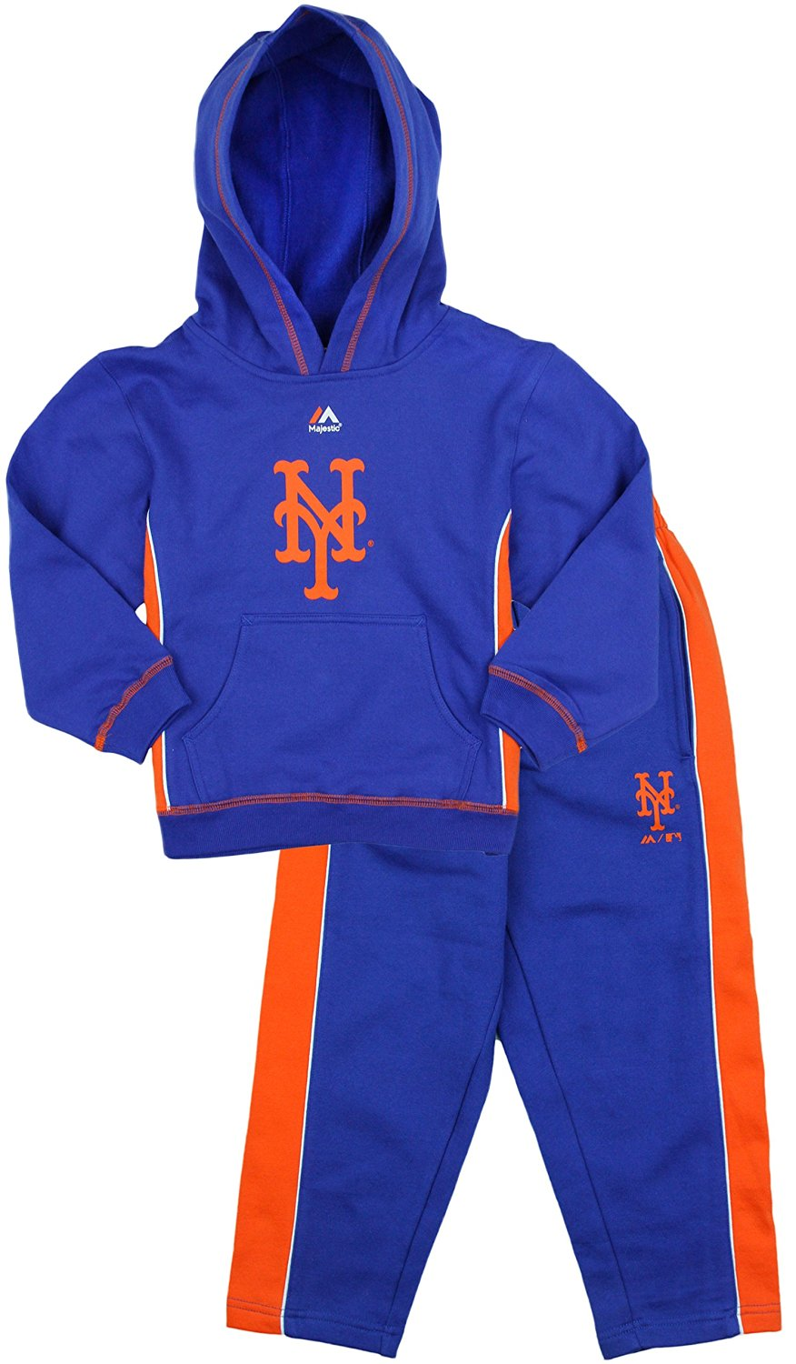super popular 9fddb 66de7 Buy New York Mets MLB Little Boys Stadium Wear Fleece Hoodie ...