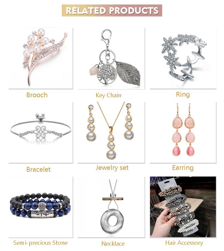 멋을 낼 Simpple 짠 Bracelets Boho Crystal Bead Bracelet