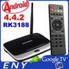 EKB311 Quad Core Android 4.4 RK3188 CS918 Google Mini TV Box Media Player