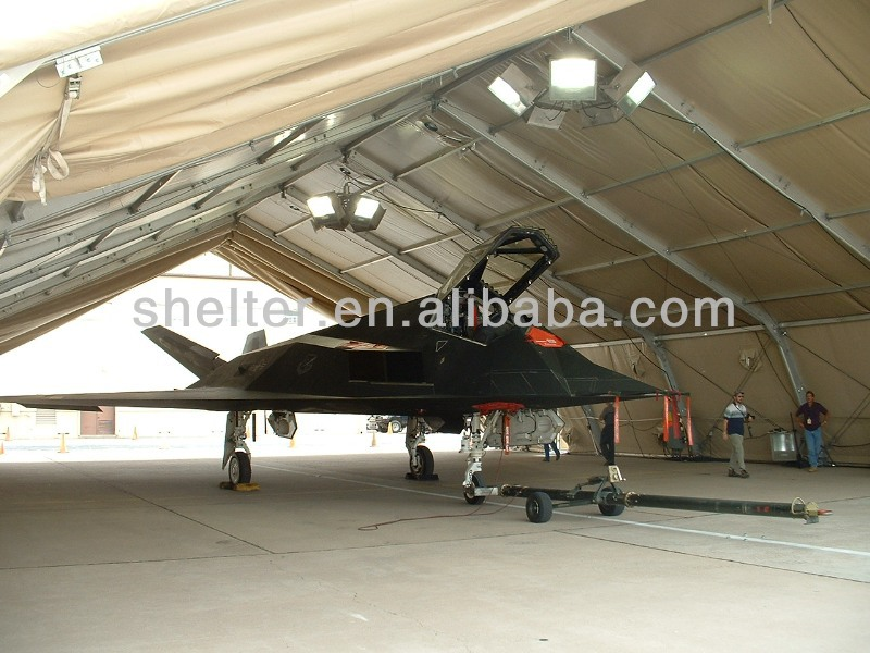 All Weather India Style 23x30m Aircraft Hangar Tent For