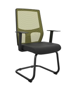 Mesh conference meeting room visiting chair office chairs no wheels