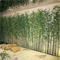 outdoor artificial bamboo plants artificial thick bamboo tree for decoration