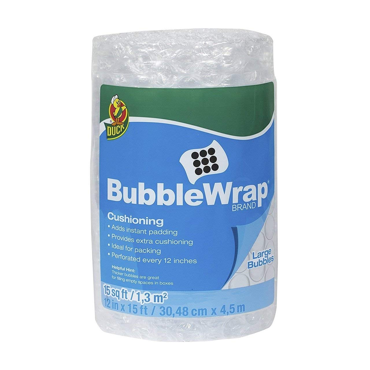 """1//2/"""" Thick 48/""""  Wide 250 ft Air Bubble Cushioning Wrap Secure Cushion Wrapping"""