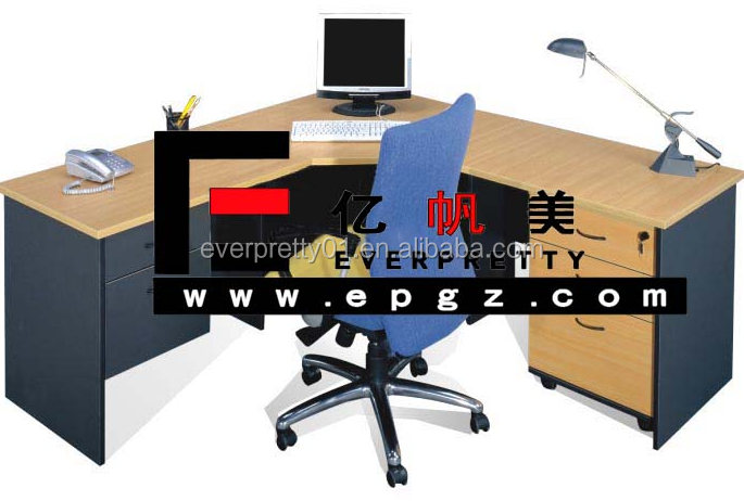 Simple Office Workstation for Secretary Office Furniture Table Designs