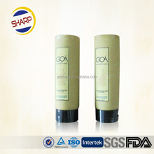Mascara Cosmetic Type and Cosmetics Usage Black Matt Cosmetic Tubes with White Color Offset Printing with Fliptop Cap
