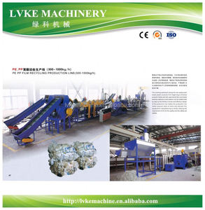 various styles China manufacturer pvdc recycling