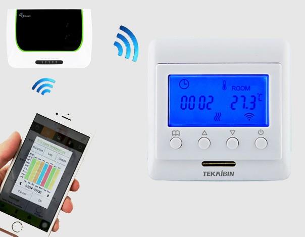 Nueva pre venta smart digital suelo radiante termostato - Termostato inalambrico precios ...