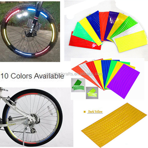 High Quality PVC Reflective Bicycle Stickers,Bicycles Rim Stickers,Reflective Tapes