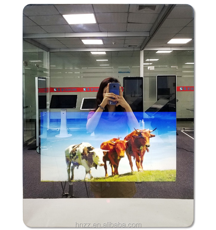 21.5 inch wall mount android smart interactive mirror touch screen