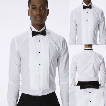100 cotton custom made men shirt tuxedo shirt buy men 100 cotton tuxedo shirt