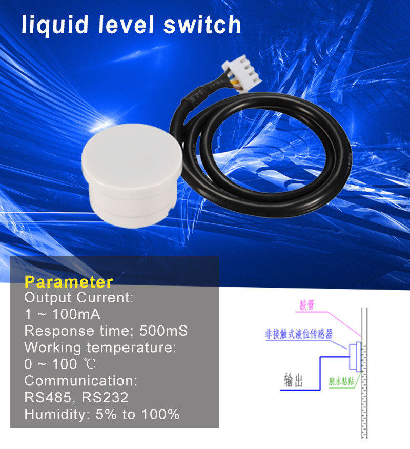 Active Components Integrated Circuits 1pcs Xkc-y25-pnp T12v Switch Water Liquid Level Detector Sensor Output Level Interface Detector