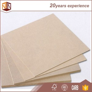1220x2800x16mm big size raw MDF Iran, plain mdf panels with high density for IRAN market