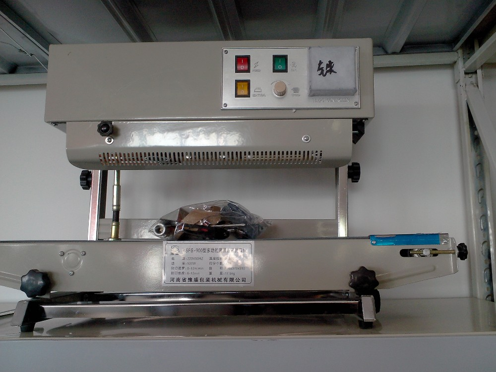 High Quality Automatic Vertical Continuous Band Sealer with Date print price