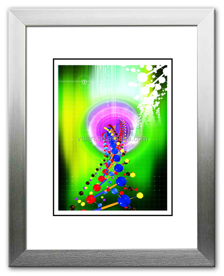 Decorative abstract product hotel modern 6x6 picture frame,frame in photo