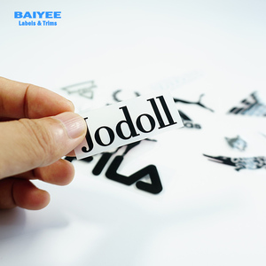 Factory screen printing 3D thick silicone rubber heat transfer patch for garment