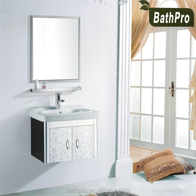 estilo moderno bao vanidad muebles de bao pulgadas de acero inoxidable a prueba