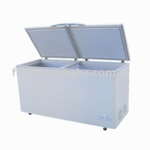chest freezer with step 450L 550L 650L deep freezer