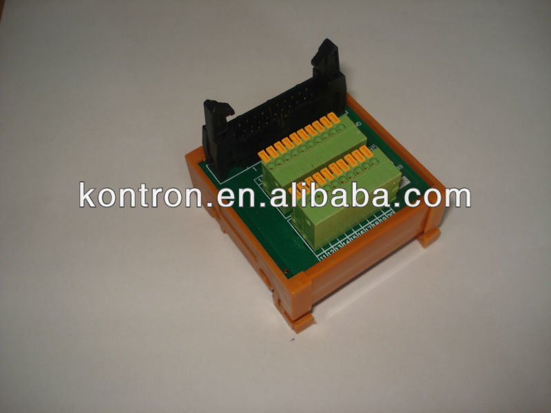 kontron multiple- pole din-rail mouting singal relay modular