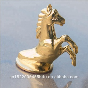 Wholesale and Custom 3D horse front cover emblem and 3D Pegasus badge for front cover