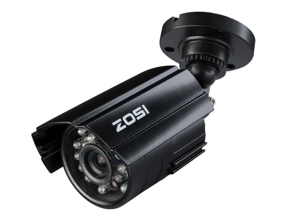 Zosi Cctv Camera 700tvl 1 3 Cmos 24ir Leds Ir Cut Day