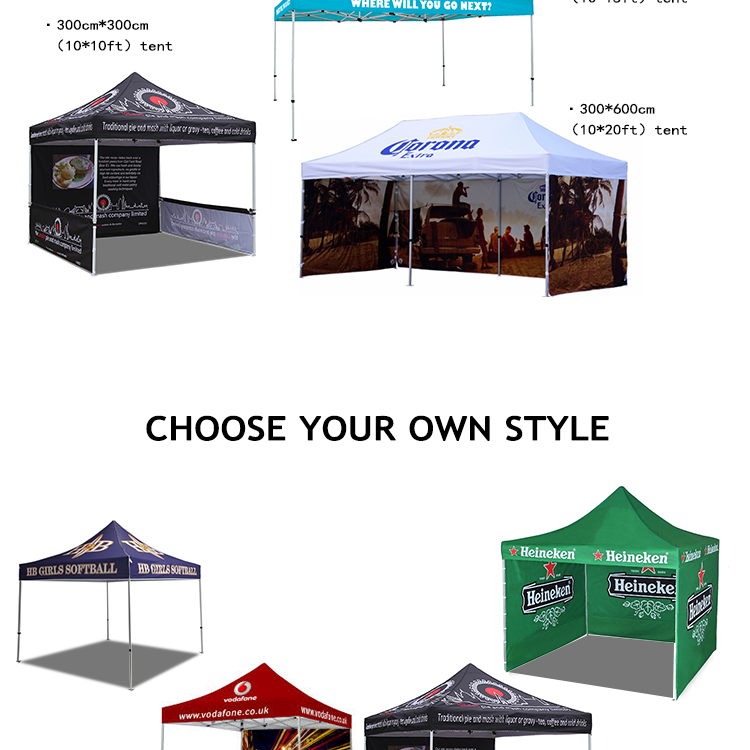 3x3 Trade Show  Easy Up Folding Tent waterproof event aluminum canopy tent