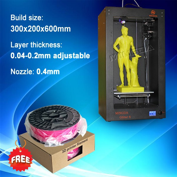 Chinese professional big 3d printer metal, cheap 3d printer large