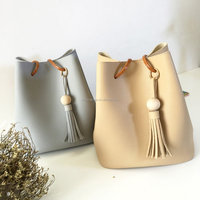 TOTE BAG STYLE SOFT PU LEATHER BUCKET BAG 2016